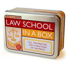 Law School in a Box - mental_floss store