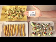 3 ricette con zucchine