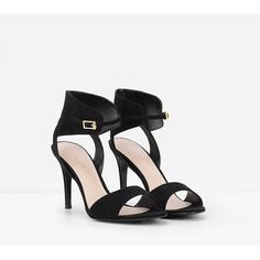 f5a3564474b CHARLES   KEITH Ankle Strap Heels ( 49) ❤ liked on Polyvore featuring shoes