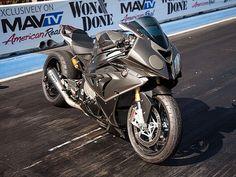 Roland Sands  BMW S1000RR drag bike