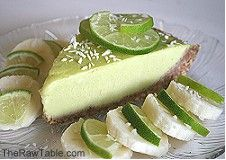 """Had the """"I Am Awakening"""" Key Lime Pie at Cafe Gratitude this weekend and was super impressed, vegan and raw"""