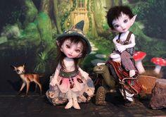 Fairyland Real Puki tiny elves.  by desertmountainbear