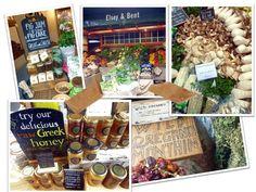 Borough Market Food Displays