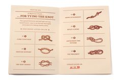 tying the knot! ha i like it!