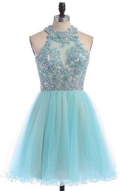 Cute prom dresses - Prom Dresses Ball Gown, Sky Blue Open Back Sequined Graduation Dress,Charming Halter Beaded Appliques Homecoming Dress,Lace Appliques Junior Prom Formal Dress, Sexy – Cute prom dresses Cute Prom Dresses, Prom Dresses For Sale, Girls Dresses, Pretty Dresses, Winter Formal Dresses, Formal Prom, Ball Gowns Prom, Ball Dresses, Foto Fantasy