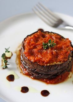 Tasty Palettes: Goodness Stacked – Easy Eggplant Bake