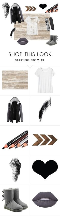 """Skater Girl"" by fantabulousfashion02 on Polyvore featuring WALL, Toast, UGG, Lime Crime and Blind"