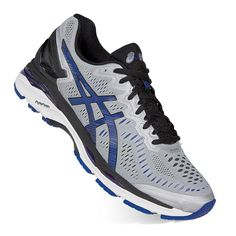 ASICS GEL-Kayano 23 Men's Running Shoes, Size: 11.5 4E, Silver