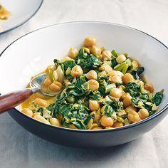 Kichererbsen-Spinat-Curry Rezept | Küchengötter