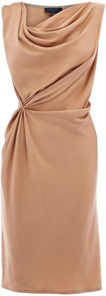 Bastyan Liberty Drape Dress in Pink (pastel pink) - Lyst  Oh, YES!