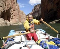 Alan Fisk-Williams, a guide for Arizona Raft Adventures, has decades of experience rafting the Colorado River through the Grand Canyon.