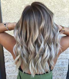 awesome Роскошные русые волосы (50 фото) — Оттенки, мелирование, омбре, балаяж