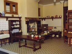 Late Victorian English Manor Dollhouse: 1/12 Miniature from ...