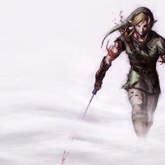 Legend of Zelda - Artistic Badass Link Wallpaper