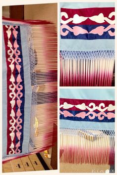 """Just arrived!! This 1 3/4 yard shawl had three yards of hand dyed and tied 18"""" fringe. We personally guarantee this fringe is dyed the right way and will not rub off on your skin, or more importantly your regalia! Find this one of a kind shawl in store for $275.00 Lay a way is available. 20% down and 90 days to pay. For any further information or to purchase, please contact Kayla at 5807658731"""