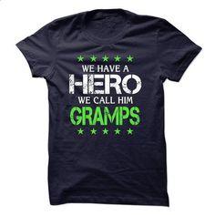 WE HAVE A HERO, WE CALL HIM GRAMPS - shirt dress #geek hoodie #boyfriend hoodie