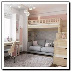 dream rooms for adults bedrooms * dream rooms ; dream rooms for adults ; dream rooms for women ; dream rooms for couples ; dream rooms for adults bedrooms ; dream rooms for girls teenagers Cute Bedroom Ideas, Room Ideas Bedroom, Girl Bedroom Designs, Small Room Bedroom, Bedroom Loft, Dream Bedroom, Teen Bedroom, Bedroom Decor Kids, Diy Bedroom