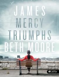 James: Mercy Triumphs ~ Beth Moore If you can find a church in your area offering this- GO DO IT! I am such a big beth moore fan now, she is amazing. God will do amazing things in your life if you do this study! Good Books, Books To Read, My Books, Beth Moore Bible Study, New Testament Books, Book Of James, Book Of Proverbs, The Life, Saint James