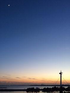 日本葛西臨海公園的笑容