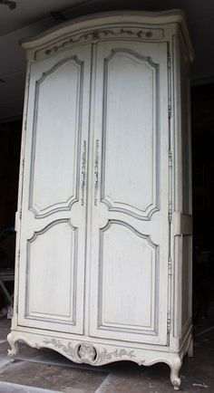 Century Furniture French Provincial Armoire. $500.00, via Etsy.