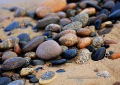 5x7 Beach Stones  Landscape Photography Fine by TJacobsPhotography, $10.00