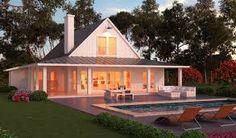 projeto casa de campo com varanda - Pesquisa Google