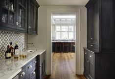 Elements of a Hardworking Butler's Pantry - Abode