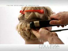 Modelo de peinado sobre cabello corto con efecto Twist