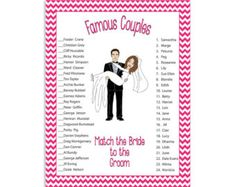 12 Best Bridal shower games images | Bridal games, Party