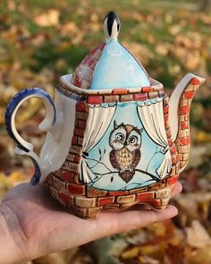 Teapot with Character
