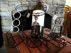 High heel wine holders