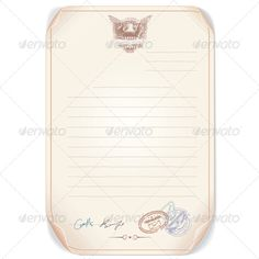 Old Top Secret Document Editable Vector Template