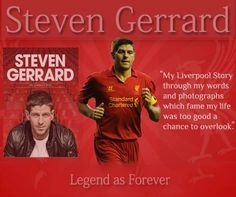 "#Bookdean pay tributes to Liverpool Man "" #StevenGerrard"", who said goodbye to Liverpool yesterday at Anfield in front of Kop after seventeen year's service to club. Bookdean tell to its readers about a good read # Steven Gerrard: My Liverpool Story. The feeling is mutual. ""I'm absolutely devastated that I won't be playing in front of these supporters again,"" Gerrard said in his postmatch speech. ""These supporters stand out more than any other club. They're the best there is."" Steven Gerrard, Seventeen, Liverpool, My Life, Club, Feelings, Sayings, Reading"