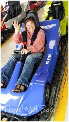 Go kart fun at Egg Harbor Fun Park in Door County, #Wisconsin.