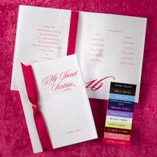 save with lots of discounted quinceañera birthday party invitations at InvitationsByU with lots of special promos