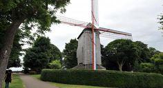 Moulin à Hazebrouck, Nord-Pas-de-Calais. Windmill in Hazebrouck, Nord-Pas-de-Calais.