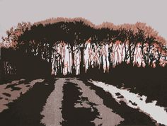 Winter - The Road-to-Hawnby. Size 20 x 26cms. 9 of 10 remaining, £50