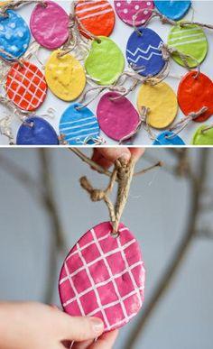 Spring Easter Egg Craft for Kids