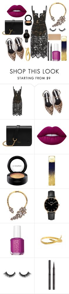 """* SEXY BEAST by bOO *"" by boo-sandra ❤ liked on Polyvore featuring Zolà, Mulberry, Lime Crime, MAC Cosmetics, Michael Kors, CLUSE, Essie and Burberry"