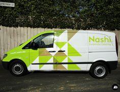 Nashi Food Truck, Catering, MB Vito, Van Wrap