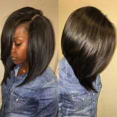 hair styles with fringe this is one of the sexiest bobs the side part 5051