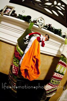 elf put underpants in kiddo's stocking
