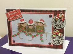 House Mouse Christmas Card, Joanna Sheen
