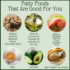 Fatty Foods That Are Good for You