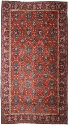 Antique Turkish 12x21 Rug 1132