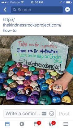 Kindness rocks project