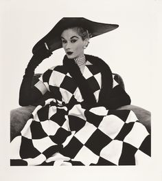 This Irving Penn Harlequin Dress print of Lisa sold for $131,450 in 2011. Penn began reprinting in the 1960s a large majority of his work wit...