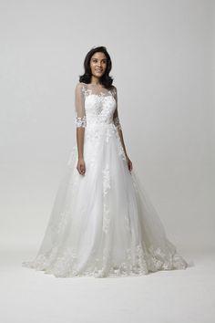 Vestido de noiva - Modelo agata :: Noiva nas Nuvens