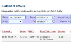 AdClickXpress (ACX) is the best ONLINE OPPORTUNITY for you. I WORK FROM HOME less than 10 minutes. Here is my Withdrawal Proof from AdClickXpress. I get paid daily and I can withdraw daily. Online income is possible with ACX, who is definitely paying - no scam here. Join for FREE and get 20$ + 10$ + 5$ Monsoon, Ad and Media value packs from ACX.   My#001Withdrawal Proof from AdClickXpress