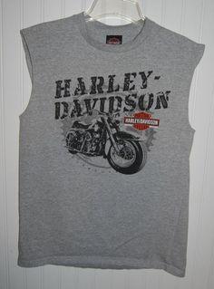 Harley Davidson Iron Fist Black Tank Top NWT Men/'s Medium